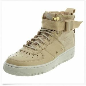best service bfaff 430df Nike Air Force 1 Leather Sneakers